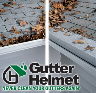 Gutter Helmet - Before and After