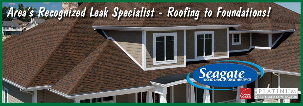 Seagate Roofing and Foundation Services - Toledo Ohio - Roofing - Basement Waterproofing - Gutter Helmet Gutter Protection