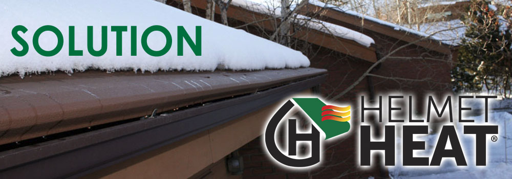 the helmet heat ice reduction system can only be installed by trained and certified gutter helmet dealer like seagate roofing and foundation services